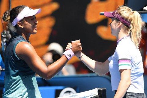Світоліна покидає Australian Open