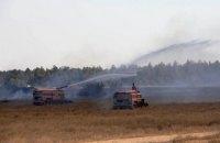 Під час навчань на півдні України загорівся військовий полігон