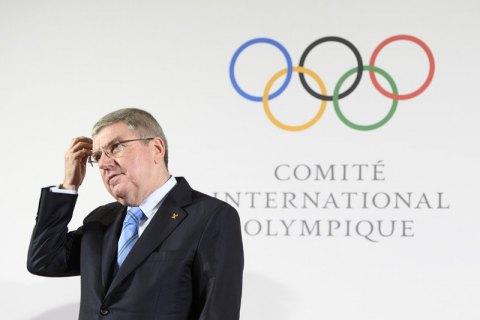 Президент МОК прокомментировал ситуацию отстранения России от соревнований с переносом Олимпиады-2020