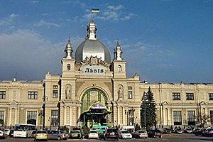 """Неизвестный снова """"заминировал"""" львовский вокзал"""