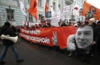 В России проходят шествия в память о Немцове
