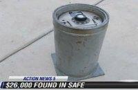 Американец нашел 26 тысяч долларов в купленном на eBay сейфе