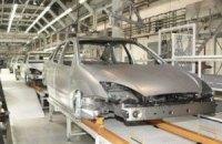 Выпуск автомобилей в Украине сократился в 5,5 раза