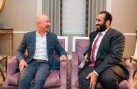 Телефон засновника Amazon Безоса зламали після повідомлення від принца Саудівської Аравії - The Guardian