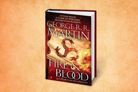 Новая книжка Джорджа Мартина выйдет в 2018г