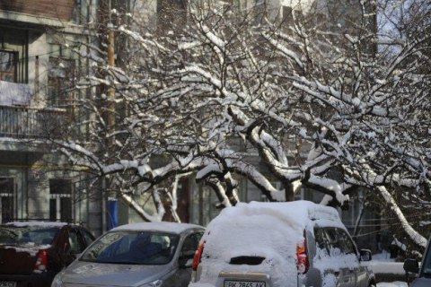 В субботу в Киеве обещают снег и -6 градусов