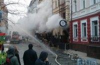 У пожежі в центрі Києва загинули двоє рятувальників (оновлено)