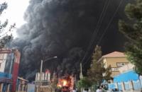 В Ірані трапилася масштабна пожежа на хімічному заводі, постраждали рятувальники