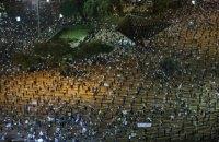 В Тель-Авиве показали, как проводить митинги в условиях карантина