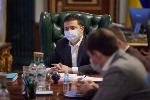 Зеленський заявив, що тримає на контролі підготовку до закупівлі вакцини від коронавірусу