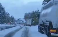Снегопады парализовали южную Францию, без света остались 200 тысяч домов
