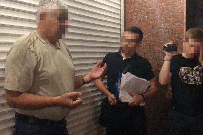 Задержание судьи Пономаренко