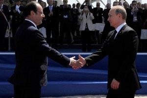 Олланд внепланово встретится с Путиным