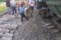 В Одеській області підірвали вантажний потяг