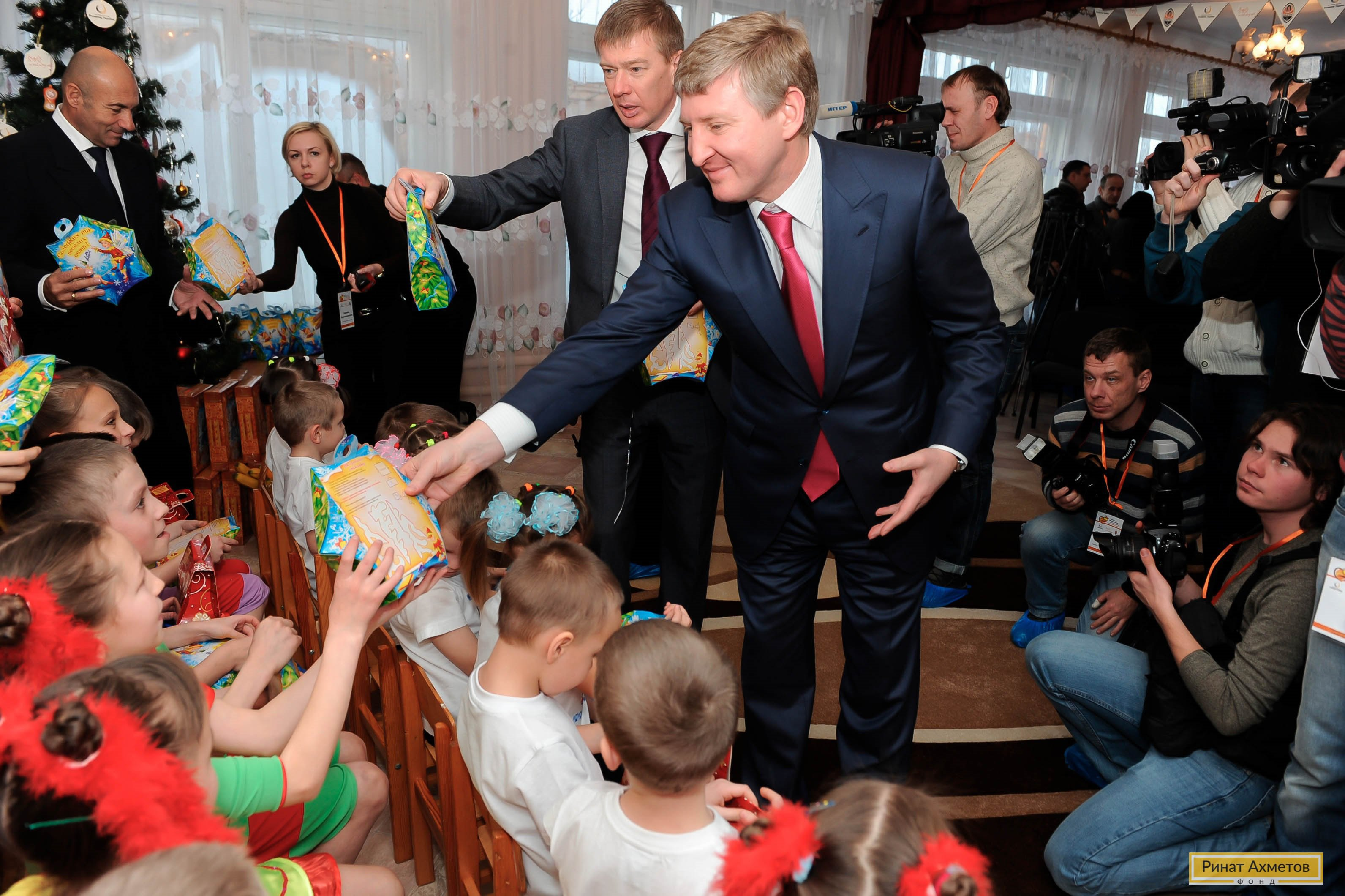 Акция «Ринат Ахметов – Детям!» 2012 год