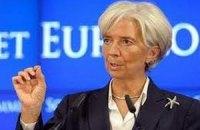 Лагард подтвердила готовность МВФ помочь Украине