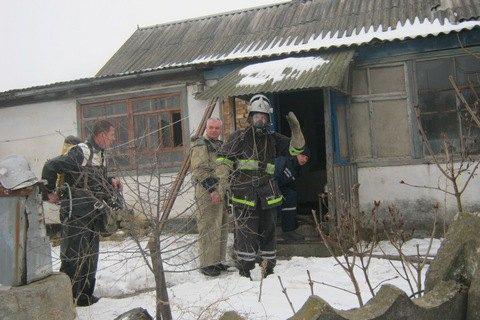 Три людини загинули через пожежу в приватному будинку в Херсонській області