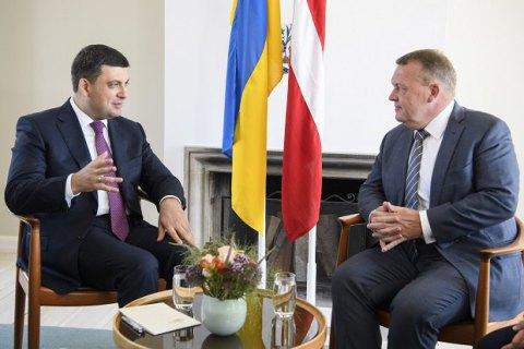 """Україна розраховує на протидію Данії будівництву """"Північного потоку-2"""""""