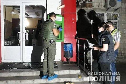 У Києві на Подолі невідомі підірвали банкомат і вкрали гроші