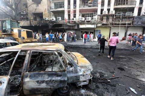 Жертвами вибуху в Багдаді стали десятки людей
