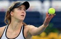 Элина Свитолина впервые вышла в финал турнира Premier 5