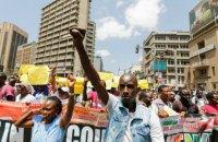 В Кении полиция разогнала газом митинг оппозиции