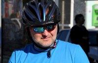 Балога проехался по Мукачево в поддержку велосипедистов
