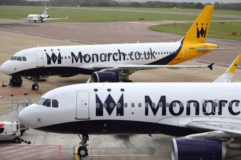 Провал Monarch Airlines стал крупнейшим вистории авиации Англии
