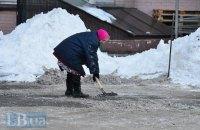 Завтра в Киеве потеплеет до +1 градуса