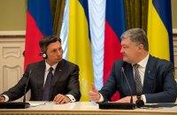 Президент Словении пообещал и дальше поддерживать санкции против РФ