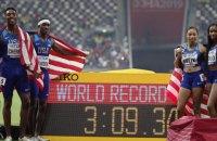 Американка побила рекорд Болта по числу золотых наград на ЧМ по легкой атлетике