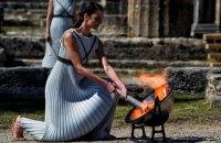 В Греции зажгли огонь Олимпийских игр-2020
