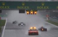 Дощ зірвав гонку Формули-1 в Бельгії