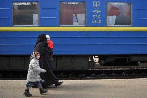 Поезд Львов-Москва оказался лидером по перевозке пассажиров в Россию