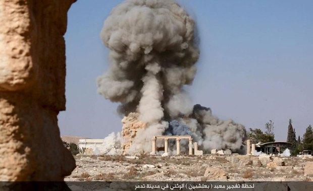 Підрив храму Баал-Шаміна в Пальмірі