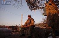 З початку доби на Донбасі загинув один військовий, двоє отримали поранення