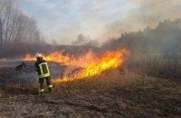 З початку року в Україні сталося понад 9 тис. займань трави, сміття і чагарників