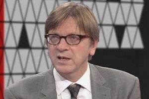 Верхофстадт передав Тимошенко резолюцію Європарламенту