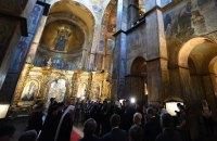 Онуфрий не пришел на молебен за Украину