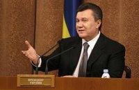Янукович об оппозиции: врут без совести всему миру