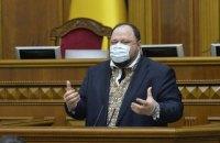 Дві фракції двічі намагалися відсторонити Стефанчука від головування на засіданні Верховної Ради (оновлено)