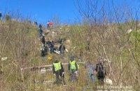 У Голосіївському районі Києва знайшли сумку з трупом