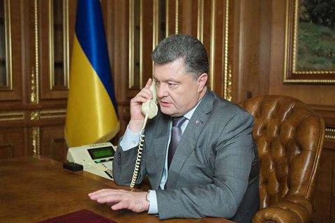Порошенко і Путін удруге за два тижні провели телефонну розмову