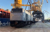 В Украину доставлены еще пять локомотивов General Electric