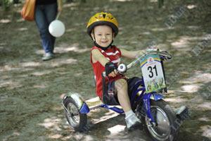 В Киеве состоялась детская велогонка
