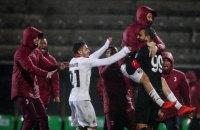 """Захоплива серія пенальті визначила переможця матчу плей-оф Ліги Європи """"Мілан"""" - """"Ріу Аве"""""""