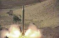 Иран провел испытание баллистической ракеты