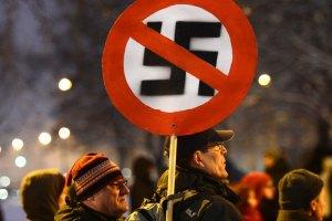 В Дрездене прошла акция протеста против неонацистов