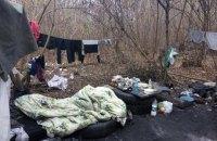 6-месячный малыш три дня жил в шалаше в лесополосе под Харьковом