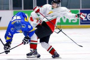 Хоккейная Украина вылетела из первого дивизиона